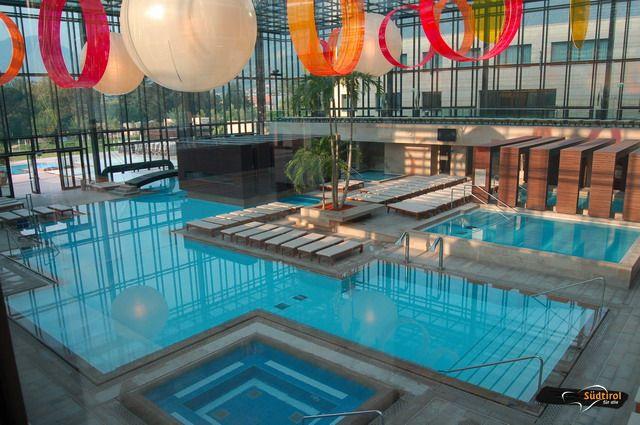 Terme merano piscine coperte e acqua termale alto adige per tutti - Hotel con piscine termali all aperto ...