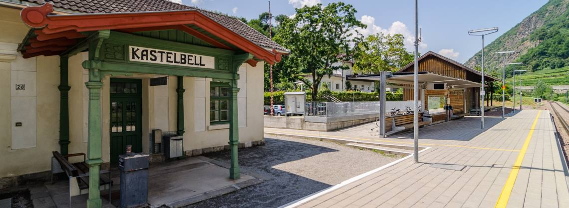 Bahnhof Kastelbell