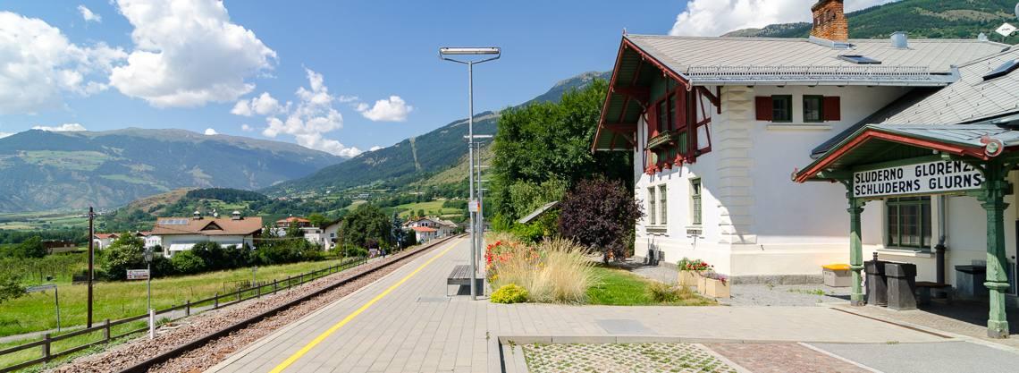 Bahnhof Schluderns