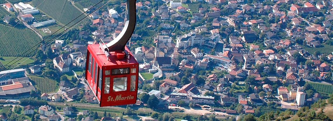 Seilbahn Latsch - St. Martin im Kofel