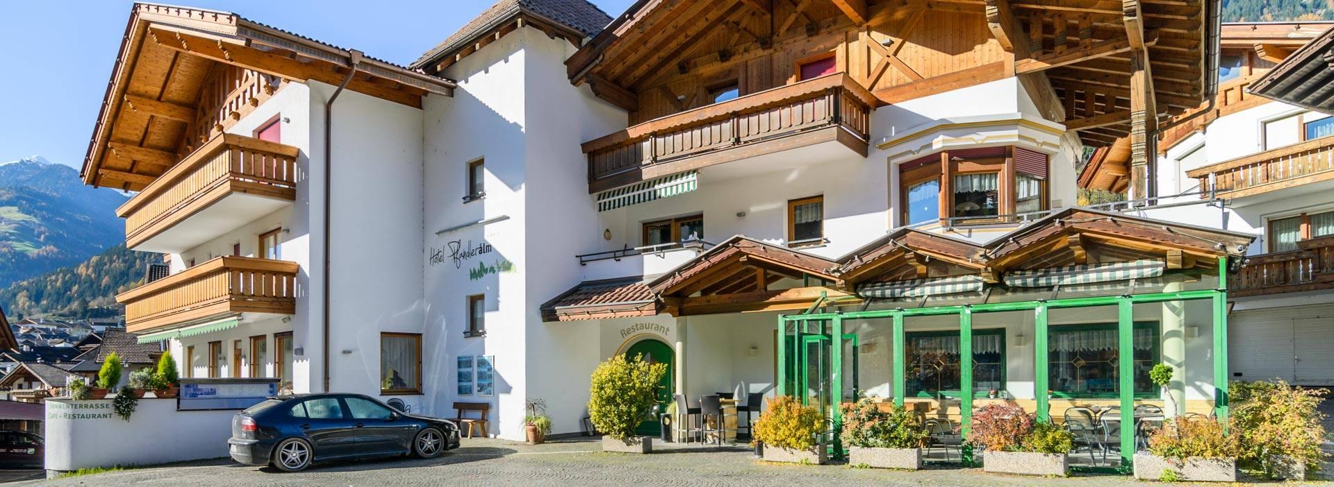 Hotel Restaurant Pfandleralm
